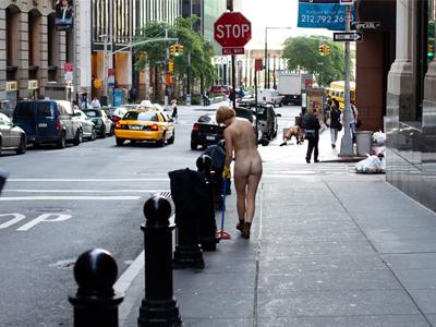street naked Wall
