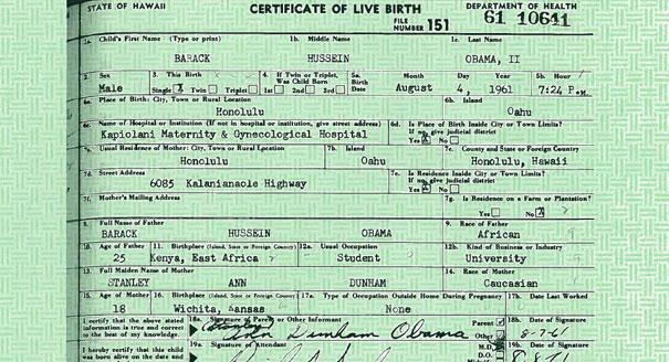 Hawaii official now swears no obama birth certificate phillhillusa 120905obamacertificatereu605605 yadclub Images